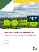 Qualitative comparative analysis (QCA)
