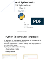 Chapter 1 Review of Python Basics Copy