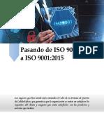 Pasando de ISO 9001
