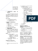 Administrative Law - Nachura