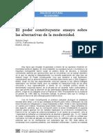 Artículo Sobre Negri y Poder Constituyente