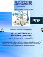 UsodeArComprimidoparaLimpezaPessoal