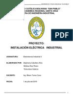 Informe Final de Electro