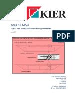 Half Joint Assessment Management Plan Report - Issue 2 June 2017
