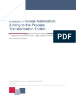RPA Adding to the Process Automation Toolkit