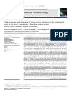 Fluid Circulation and Formation of Minerals and Bitumens in the Sedimentary Rocks of the Outer Carpathians – Based on Studies on the Quartz–Calcite–Organic Matter Association