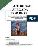 autoridad delegada por DIOS