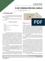 Genesis - Factores de Formación Del Suelo 2019