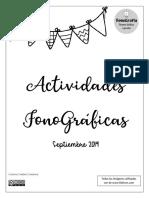 ACTIVIDADES FONOGRAFICAS
