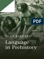 Language in Prehistory