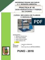 5 Informe Presion Hidrostatica