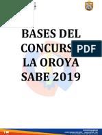 Bases 2019 La Oroya Sabe