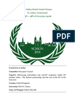 Position Paper United Kingdom