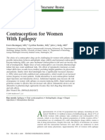 contraception for women with epilepsy