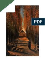 Dos Figuras en El Bosque Vincent Van Gogh