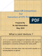 REV Joint Venture 08th May 2019