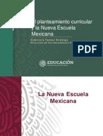 Mapa curricular y la nueva escuela mexicana