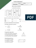 Prueba Geometria 3ero