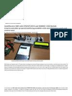 STM32f103c8 interfacing