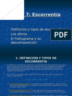 factores de escorrentia