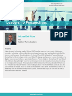 StayinFront Leadership Perspective Roundtable Interview with Michael Del Priore