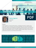 StayinFront Leadership Perspective Roundtable Interview with Takshay Aggarwal