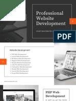 Professional Website Development Services Jploft