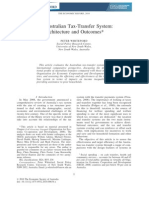 Whiteford - Architecture and Outcomes of the Transfer System