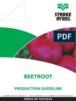 Beetroot Production Guideline 2014