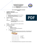 Lesson Plan Grade 9 English Cot2