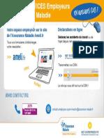 CPAM - Les Téléservices Employeurs