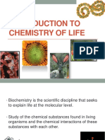 Introduction to Chemistry of Life