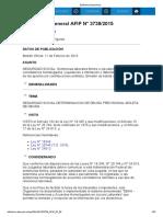 Rg 3739-15 Sentencias Laborales Firmes o Ejecutoriadas