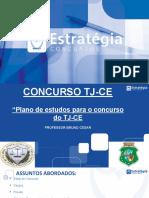 Plano de Estudos TJ-CE