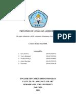 Principles of Language Testing