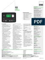 Dse8610 Mkii Data Sheet