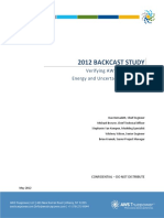 2012 Backcast Study Verifying AWS Truepowers Energy and Uncertainty Estimates1