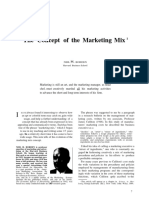 Borden 1984 the Concept of Marketing Mix