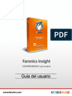 fARONICS INSIGTHE MANUAL DE  USARIO