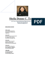 Sdctomas Resume 2018