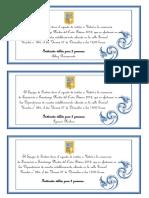 Invitacion Graduacion 8º Basico