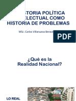 s.1 La Historia Política e Intelectual Como