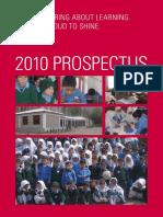 GRACE School Prospectus2010