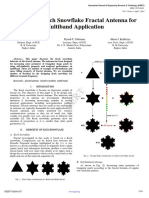 Analysis of Koch Snowflake Fractal Antenna for Multiband Application IJERTV3IS041857 (2)