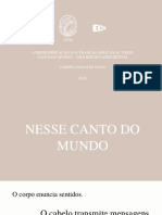 """GABRIELA ISAIAS - Apresentação visual TCC """"Nesse Canto Do Mundo"""""""