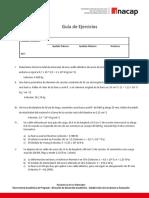 Guía de Ejercicios N°1