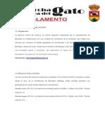 Reglamento Marcha Cueva Del Gato 2019 Modificado