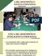 Etica Del Desempeno e Inteligencia Emocional
