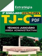 Simulado TJ-CE Área Administrativa