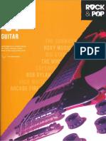 Pop & Rock - Trinity - Grade 1 Guitar